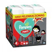 Pampers Pants szuperhősös bugyipelenka, XL 6, 15+ kg, HAVI PELENKACSOMAG 120 db