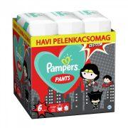 Pampers Pants szuperhősös bugyipelenka, XL 6, 15+ kg, HAVI PELENKACSOMAG 180 db + AJÁNDÉK BÉBIKIFOGÓ