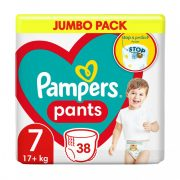 Pampers Pants bugyipelenka, XL 7, 17 kg+, 38 db