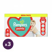 Pampers Pants bugyipelenka, Maxi 4, 9-15 kg, 2+1, 324 db