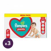Pampers Pants bugyipelenka, Maxi+ 4+, 9-15 kg, 2+1, 306 db