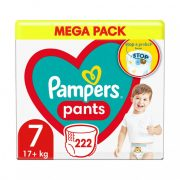 Pampers Pants bugyipelenka, XL 7, 17 kg+, 2+1, 222 db