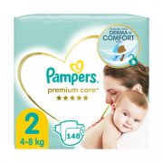 Pampers Premium Care pelenka, Mini 2, 4-8 kg, 148 db