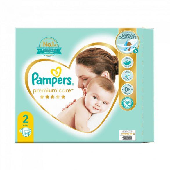 Pampers Premium Care Mini 2, 4-8 kg HAVI PELENKACSOMAG 148 db