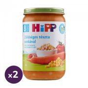 Hipp BIO zöldséges tészta sonkával, 8 hó+ (2x220 g)