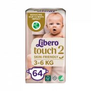 Libero Touch pelenka, Mini 2, 3-6 kg, 64 db