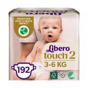 Libero Touch pelenka, Mini 2, 3-6 kg, HAVI PELENKACSOMAG 3x64 db