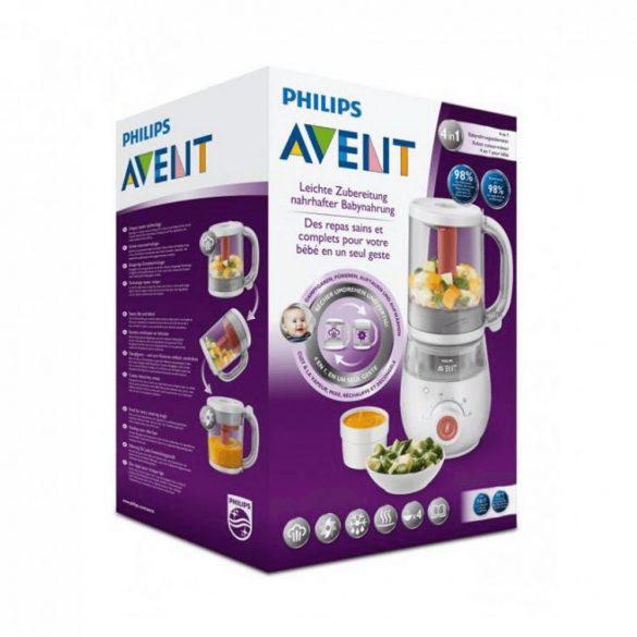 Philips Avent SCF881/01 4 az 1-ben egészséges bébiétel-készítő