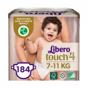Libero Touch pelenka, Maxi 4, 7-11 kg, HAVI PELENKACSOMAG 4x46 db