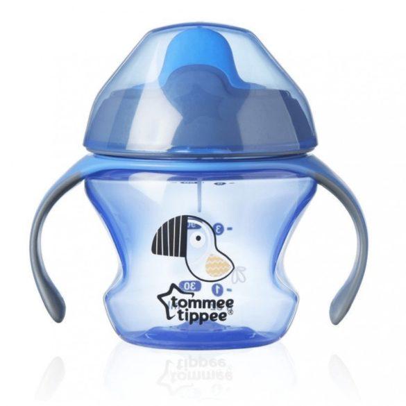 Tommee Tippee EXPLORA first cup itatópohár 150 ml 4 hó+ (kék)
