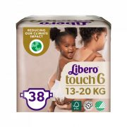 Libero Touch pelenka, Junior 6, 13-20 kg, 38 db