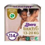 Libero Touch pelenka, Junior 6, 13-20 kg, HAVI PELENKACSOMAG 3x38 db