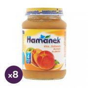 Hamánek bébidesszert alma-őszibarack, 4 hó+ (8x190 g)