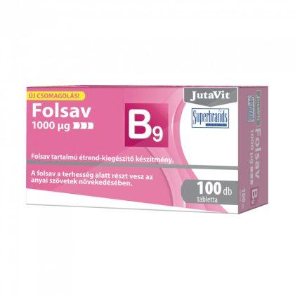 Jutavit Folsav tabletta (100 db)