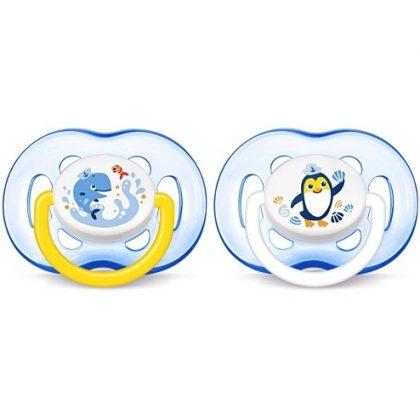 Avent SCF186/24 játszócumi 18 hó+ 2 db (kék)