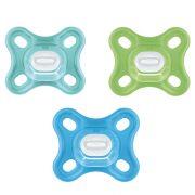 MAM Comfort puha szilikon játszócumi 0 hó+ (kék)