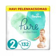 Pampers Pure Protection pelenka, Mini 2, 4-8 kg, 132 db