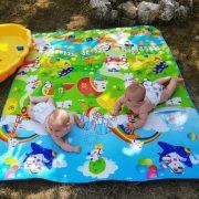 Óriás játszószőnyeg gyerekeknek