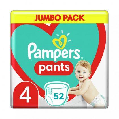 Pampers Pants bugyipelenka, Maxi 4, 9-15 kg, 52 db
