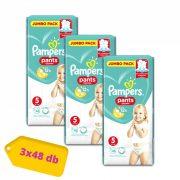 Pampers Pants bugyipelenka, Junior 5, 12-17 kg, 2+1 AKCIÓ 144 db