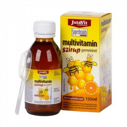 JutaVit Multivitamin szirup gyerekeknek (150 ml)