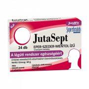 JutaVit Jutasept eper-szeder-mentol ízű szopogató tabletta (24 db)