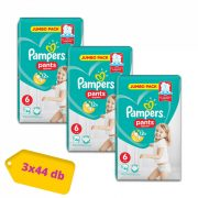 Pampers Pants bugyipelenka, XL 6, 15 kg+, 2+1, 132 db