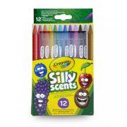 Crayola 12 db csavard és szagold színesceruza