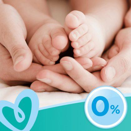 Pampers Fresh Clean nedves törlőkendő 12x80 db