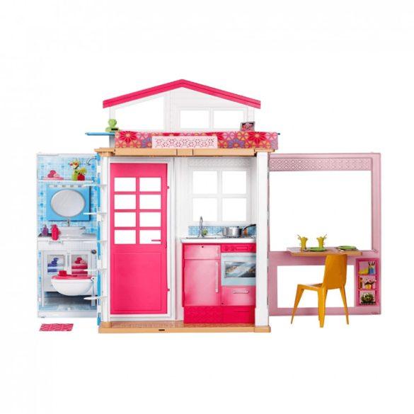 Barbie emeletes Barbie ház teljes berendezéssel