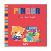 Pindur - Hová tűntél, Pepi? - Interaktív készségfejlesztő lapozó