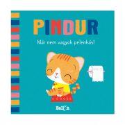 Pindur - Már nem vagyok pelenkás! - Interaktív készségfejleszt? lapozó