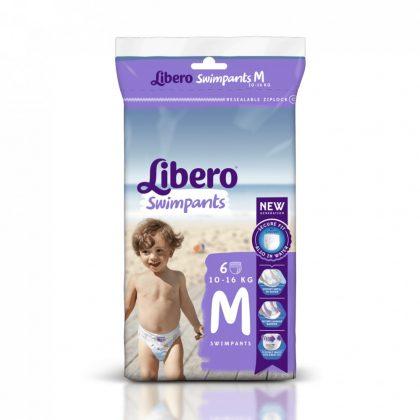 Libero Swimpants medium úszópelenka 10-16 kg, 6 db
