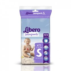 Libero Swimpants úszópelenka 7-12 kg 6 db, small