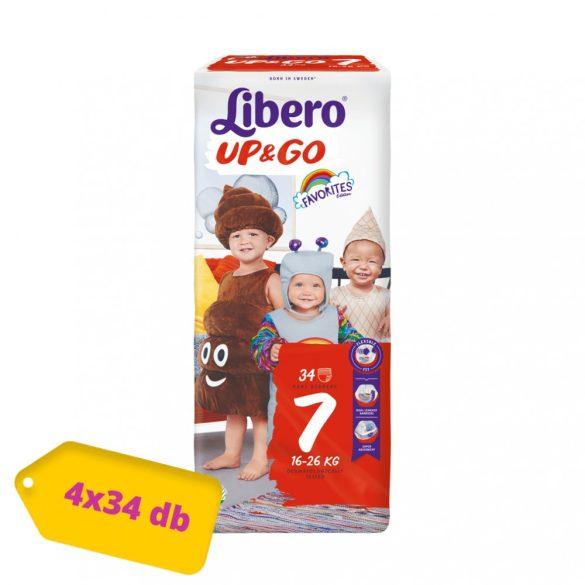 Libero UP&GO bugyipelenka XL 7, 16-26 kg, HAVI PELENKACSOMAG 4x34 db