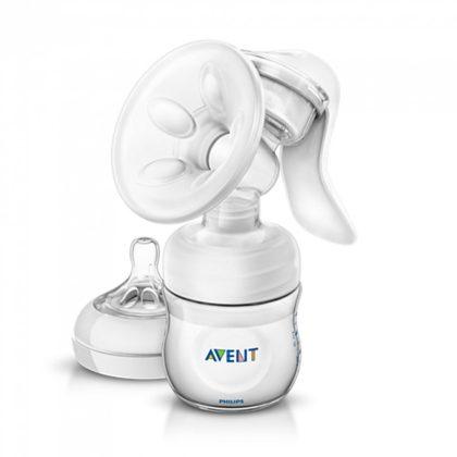 Philips Avent SCF330/13 Natural kézi mellszívó 3 db VIA pohárral