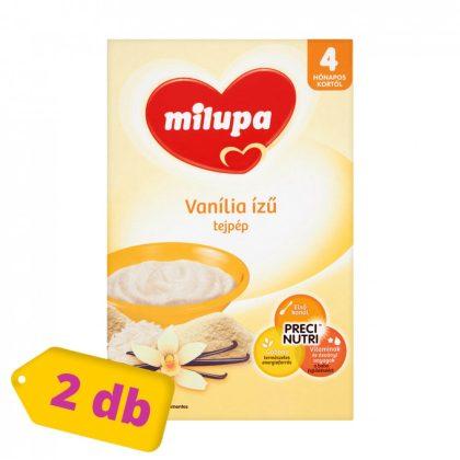 Milupa vanília ízű tejpép 4 hó+ (2x250 g)