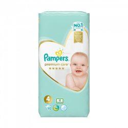 Pampers Premium Care pelenka, Maxi 4, 8-14 kg, 52 db-os