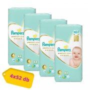 Pampers Premium Care Maxi 4, 9-14 kg HAVI PELENKACSOMAG 4x52 db