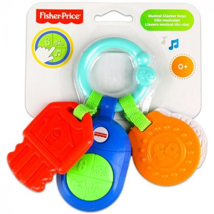 Fisher-Price: Slusszkulcs rágóka