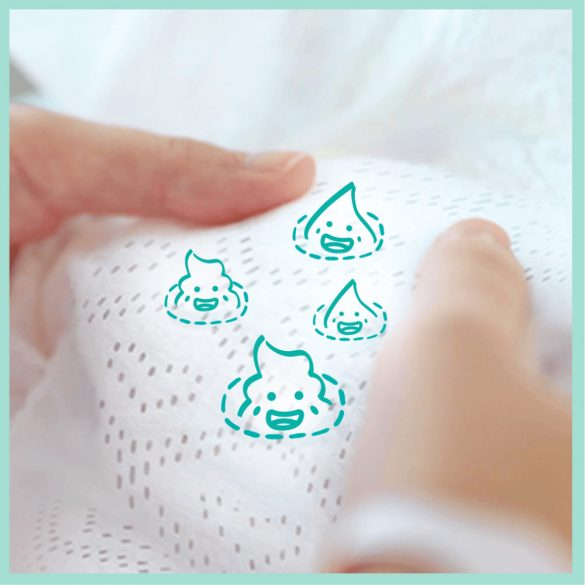 Pampers Premium Care pelenka, Maxi 4, 9-14 kg, 1+1, 336 db
