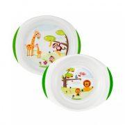 Chicco Chicco tányér szett 12 hó+ (2 db)