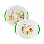 Chicco tányér szett 12 hó+ (2 db)