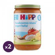Hipp BIO paradicsomos tészta tengeri hallal, 12 hó+ (2x220 g)