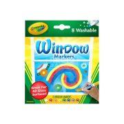 Crayola ablakfestő filctoll (8 db)