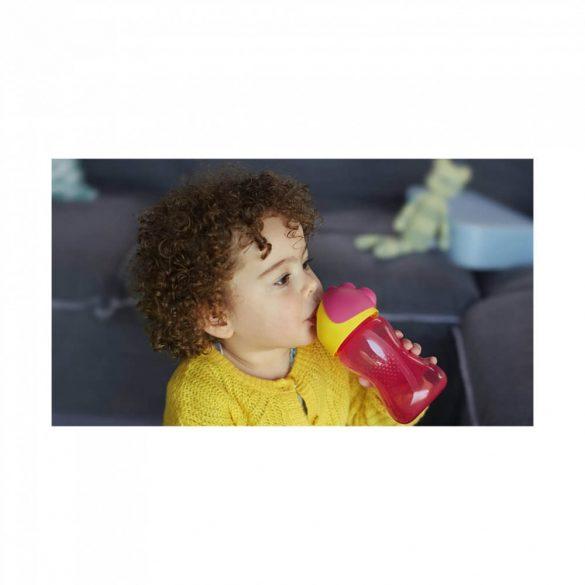 Avent SCF798/02 Itatópohár rugalmas szívószállal 300 ml (rózsaszín)