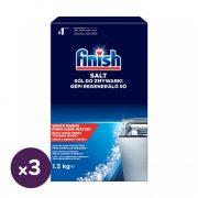 Finish regeneráló mosogatógép só 3x1,5 kg