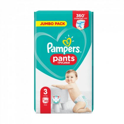 Pampers Pants bugyipelenka, Midi 3, 6-11 kg, 60 db
