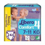Libero Comfort pelenka, Maxi 4, 7-11 kg, MÁSFÉL HAVI PELENKACSOMAG 3x82 db