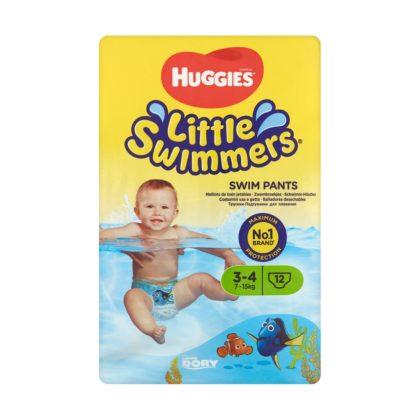 Huggies Swimmers úszópelenka méret: 3-4 (7-15 kg), 12 db